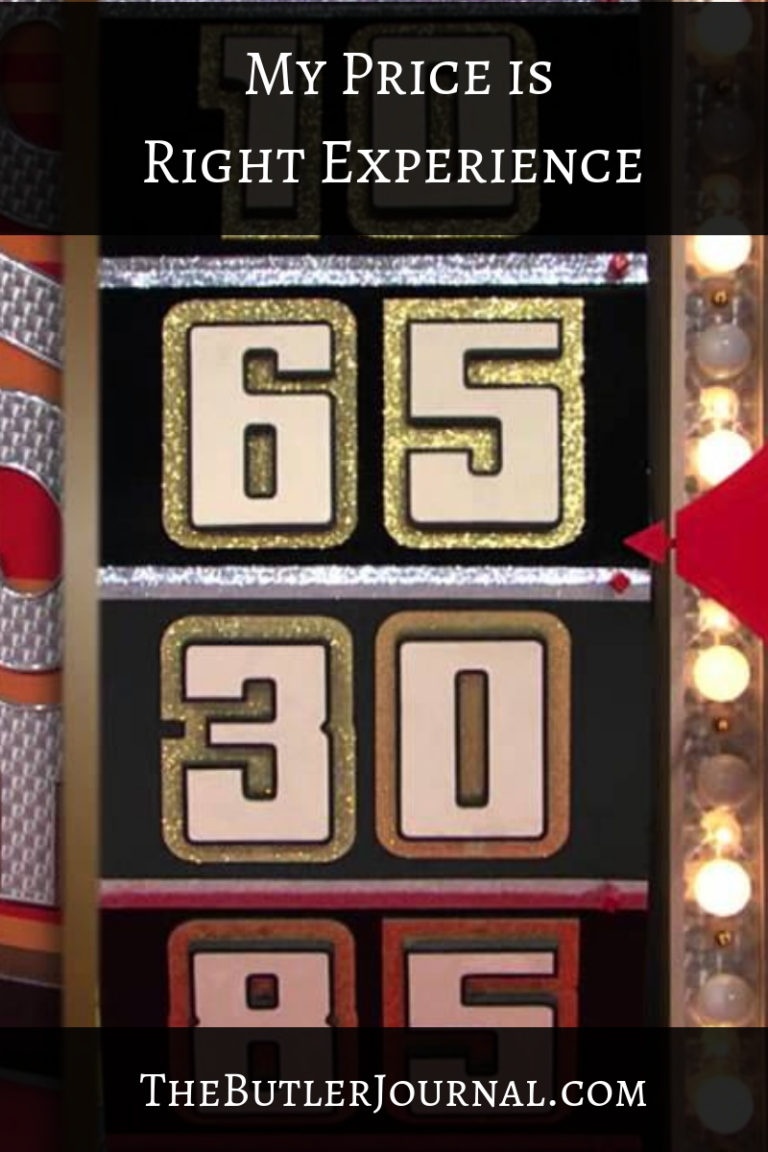 My Price is Right Experience