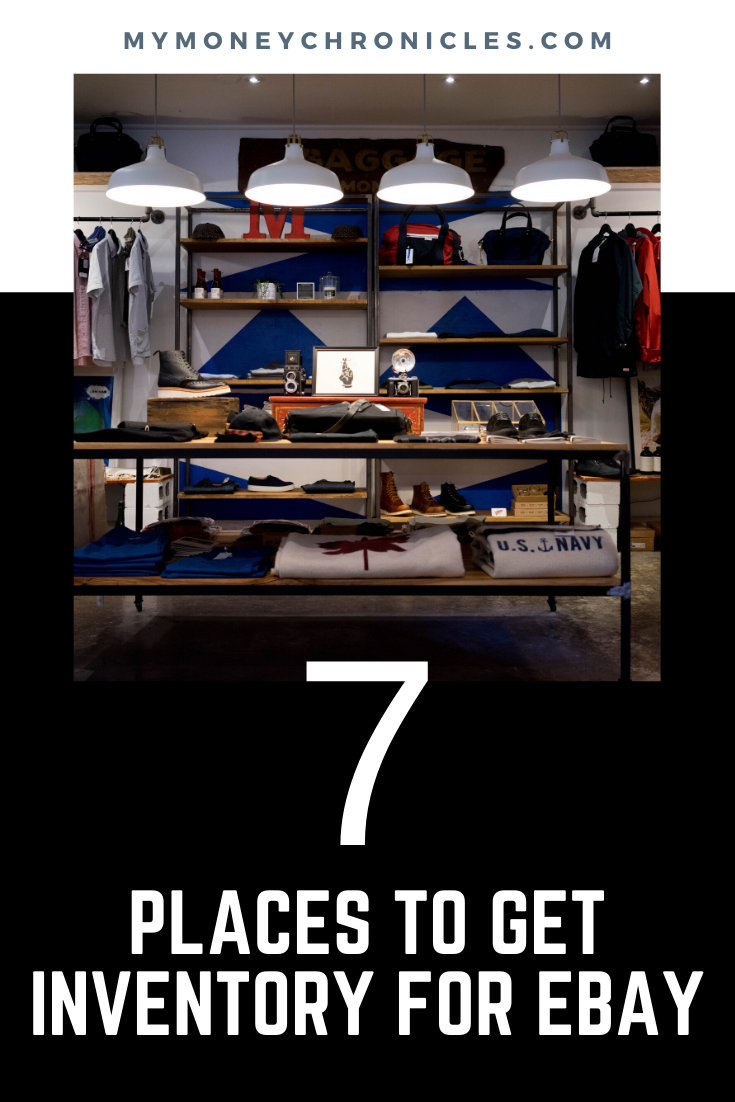 7 Places To Get Inventory For eBay