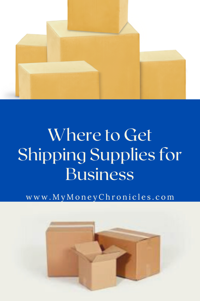Where to Get Shipping Supplies for Business