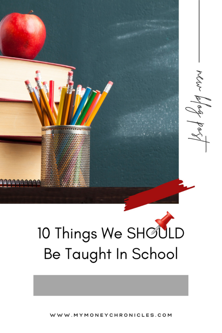 10 Things We Should Be Taught In School