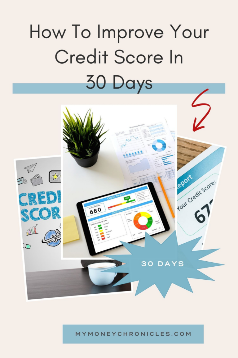 How To Improve Your Credit Score In 30 Days