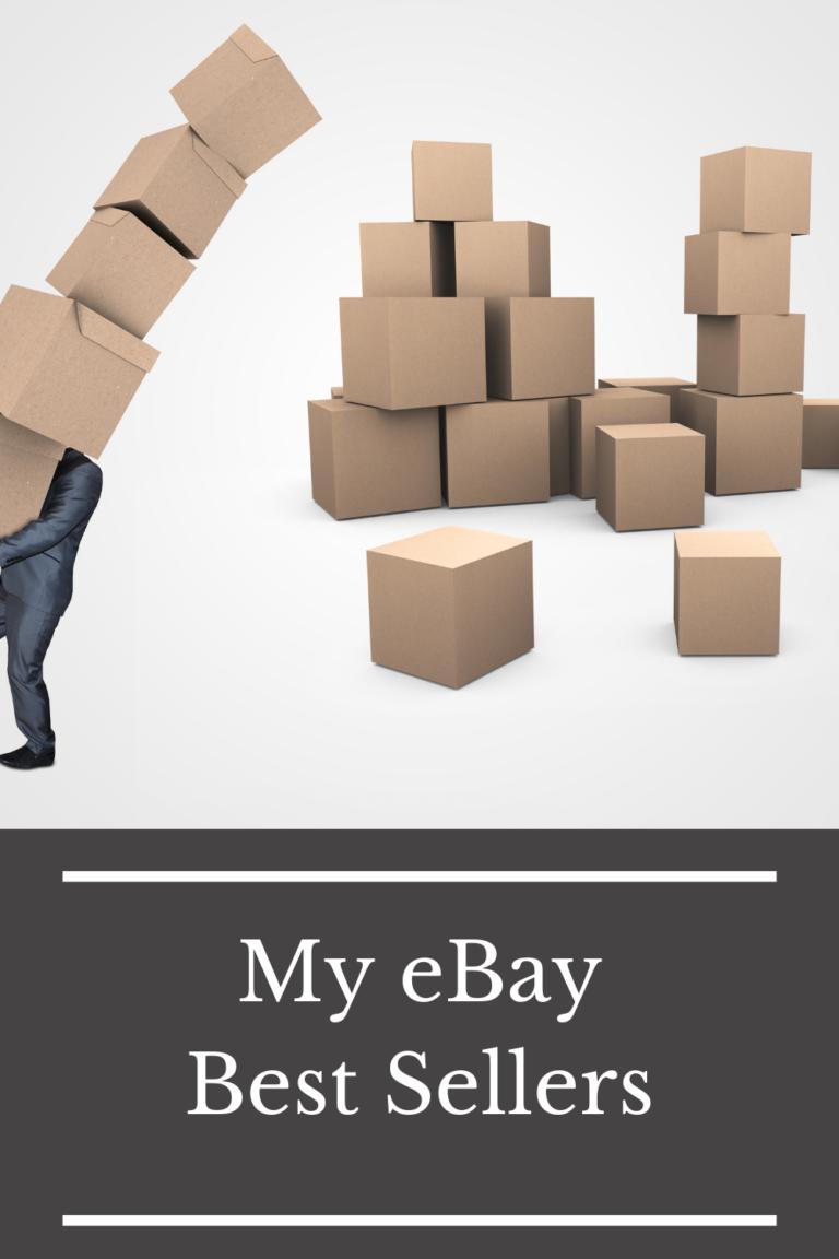 Top Items I Sell on eBay: eBay Best Sellers