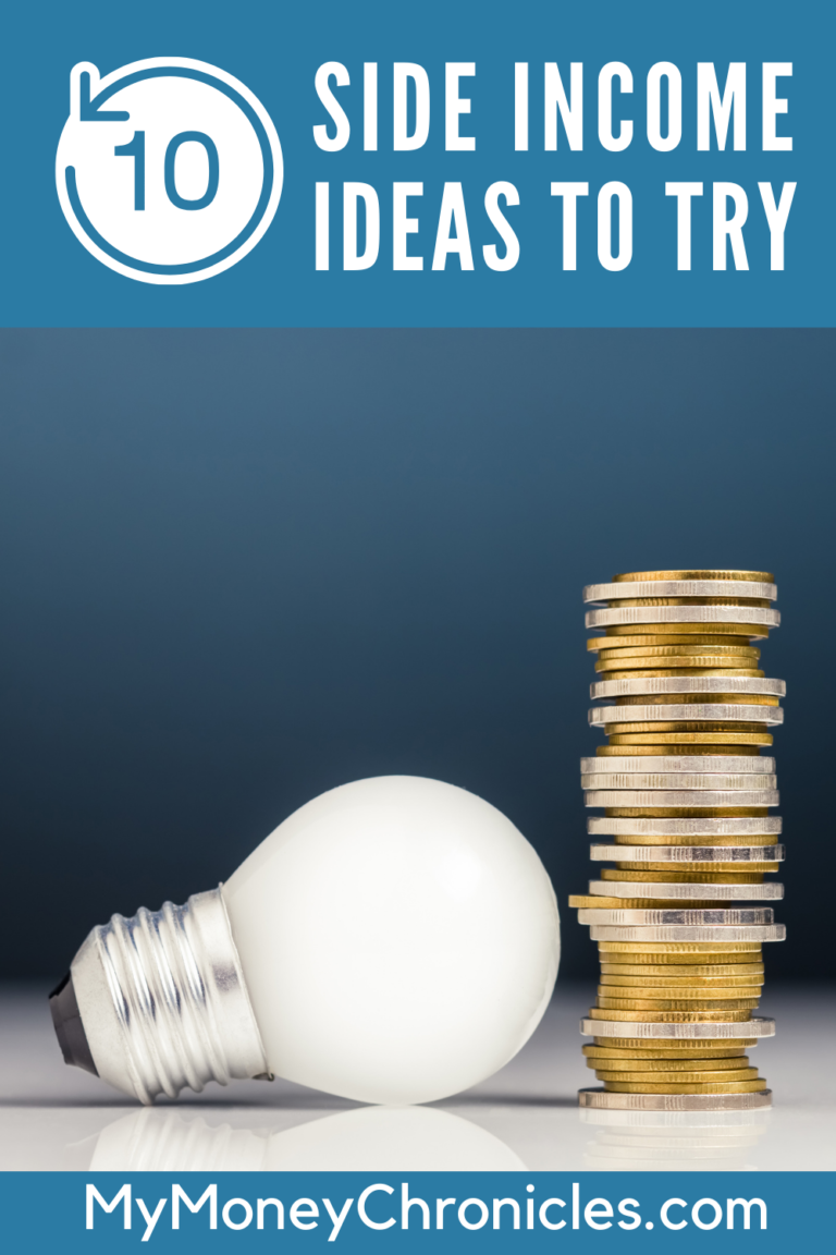 10 Side Income Ideas to Try