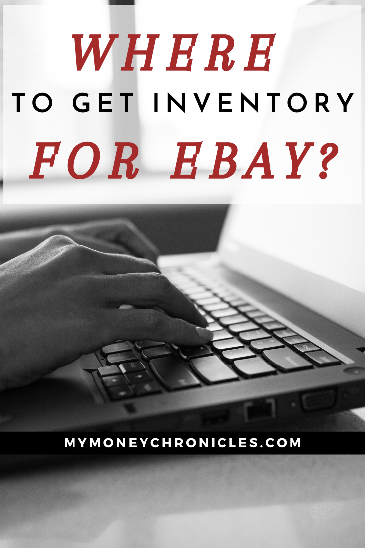 Where to Get Inventory For eBay?