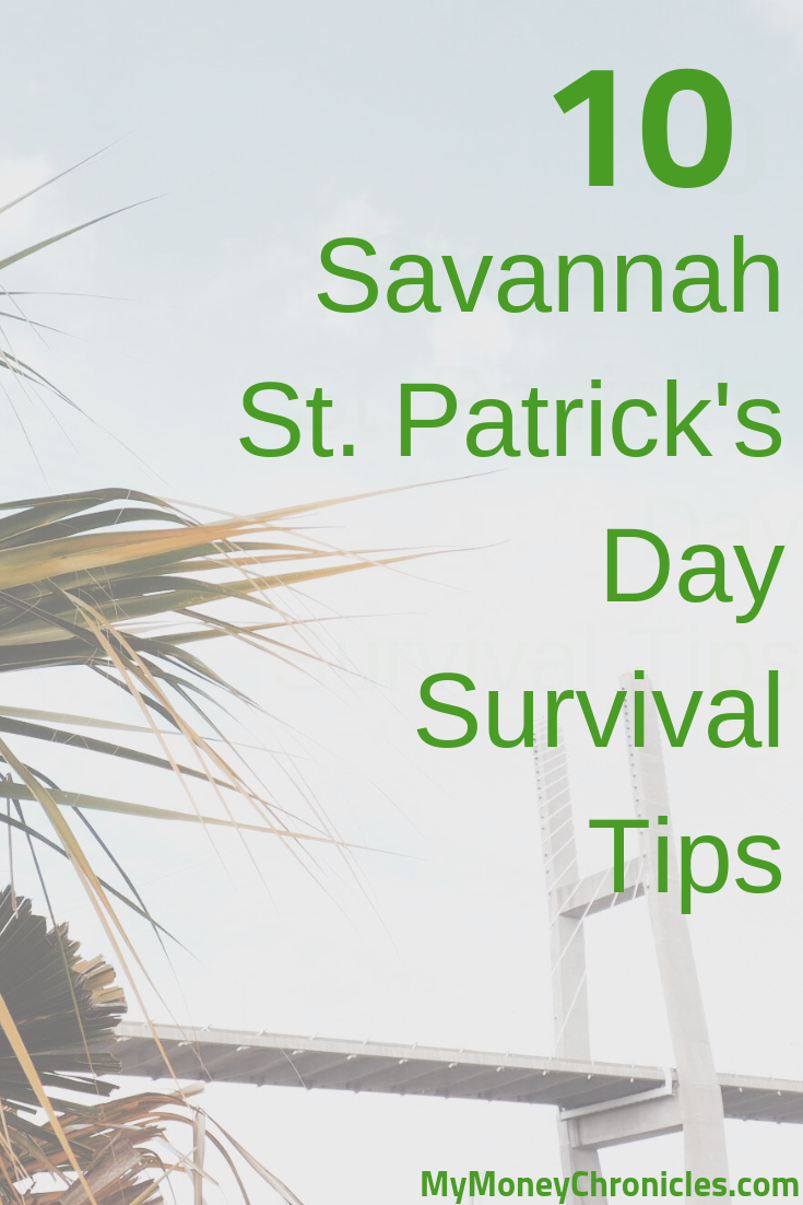 10 Savannah St. Patrick's Day Survival Tips