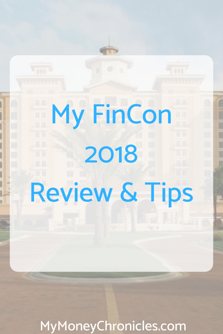 My FinCon 2018 Review & Tips
