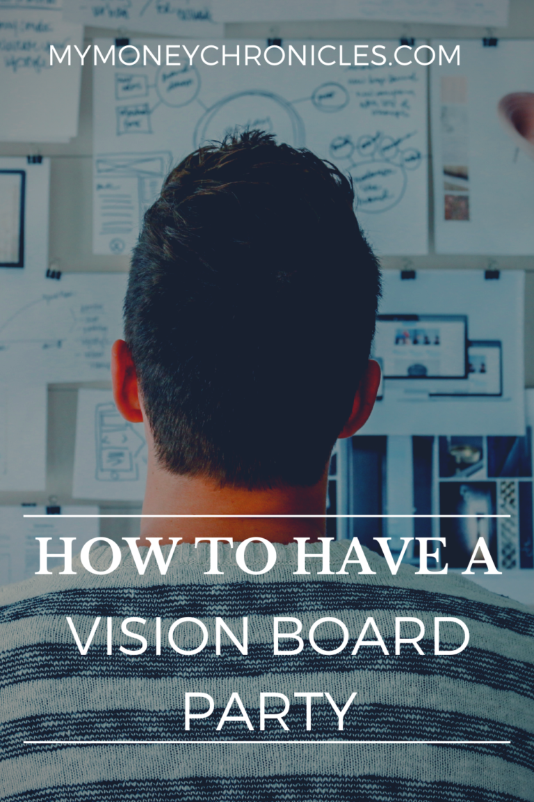 How to Have a Vision Board Party