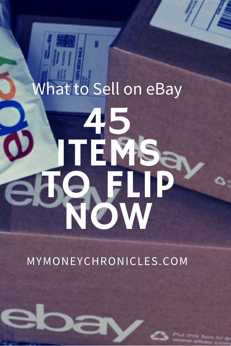 What to Sell on eBay: 45 Items to Flip Now