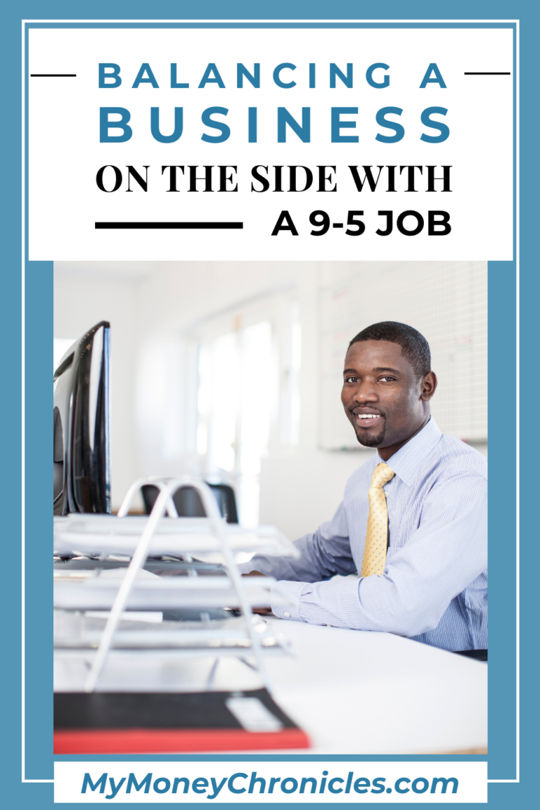 Balancing a Business on the Side With a 9-5 Job