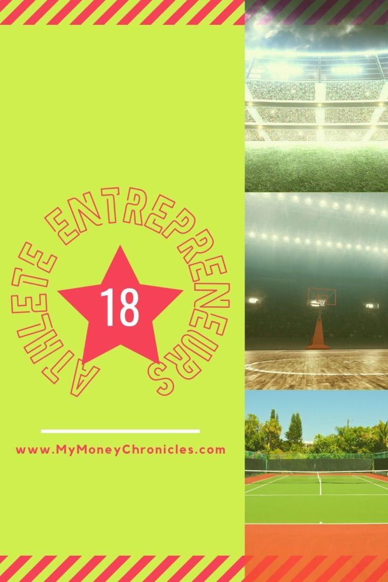 18 Athlete Entrepreneurs