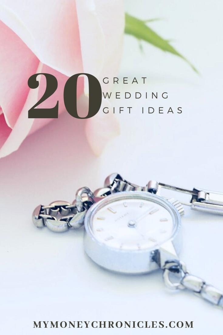 20 Great Wedding Gift Ideas