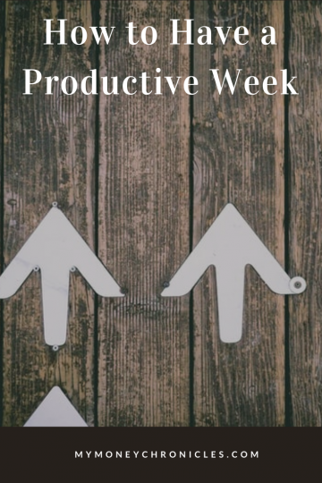 How to Have a Productive week