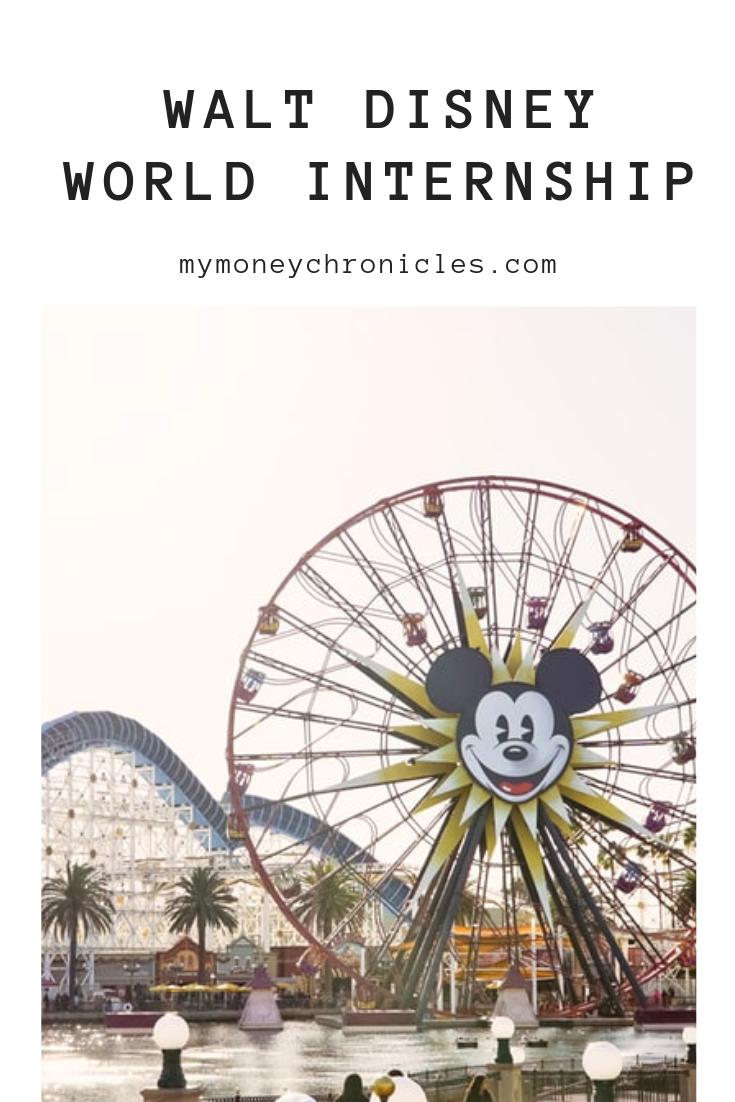 Walt Disney World Internship
