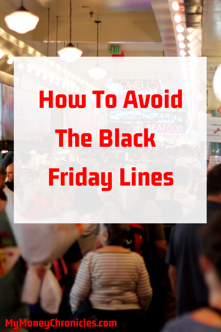 How to Avoid Black Friday Lines
