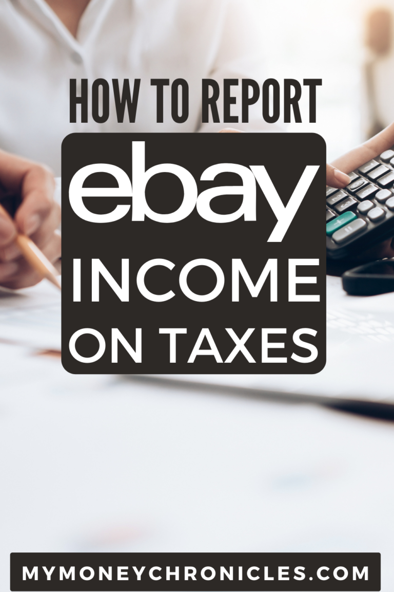How to Report eBay Income on Taxes