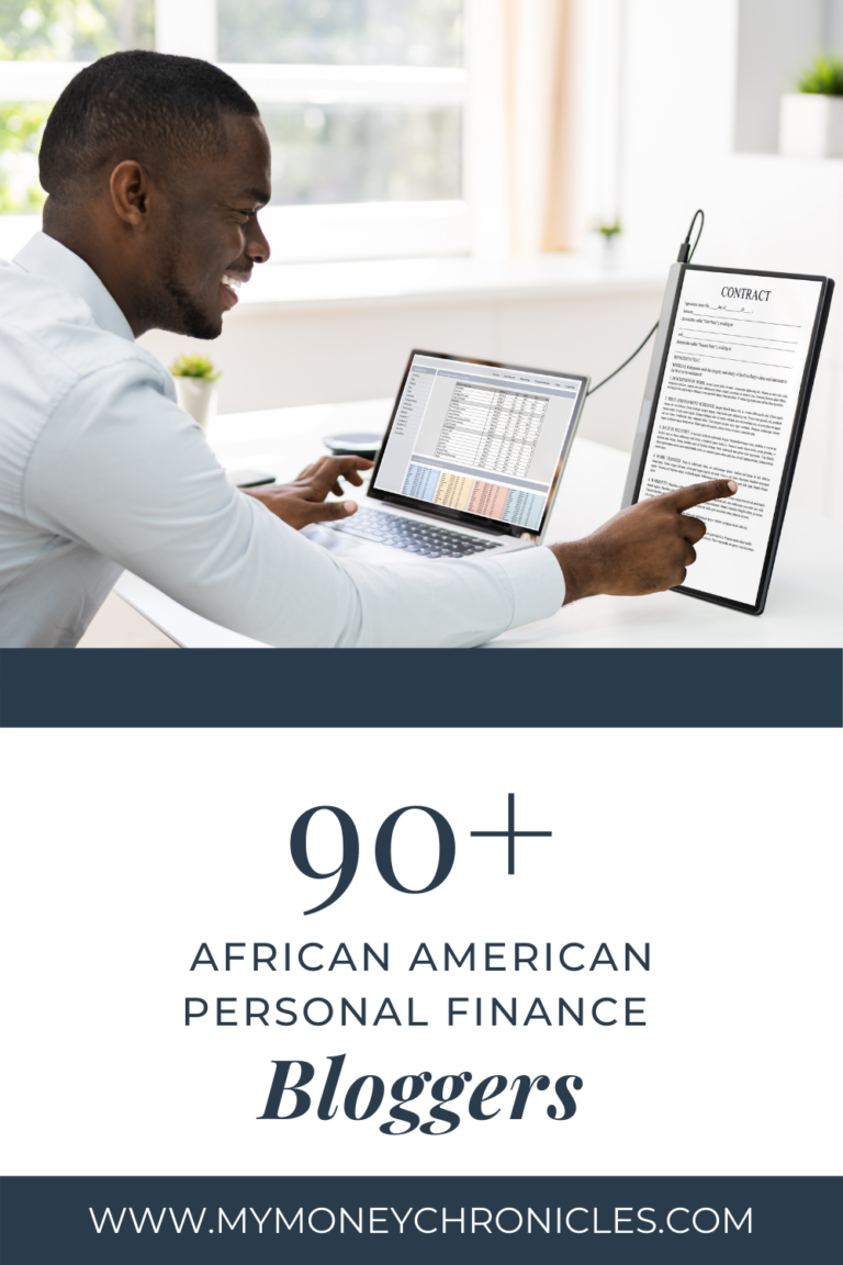 90+ African American Personal Finance Bloggers