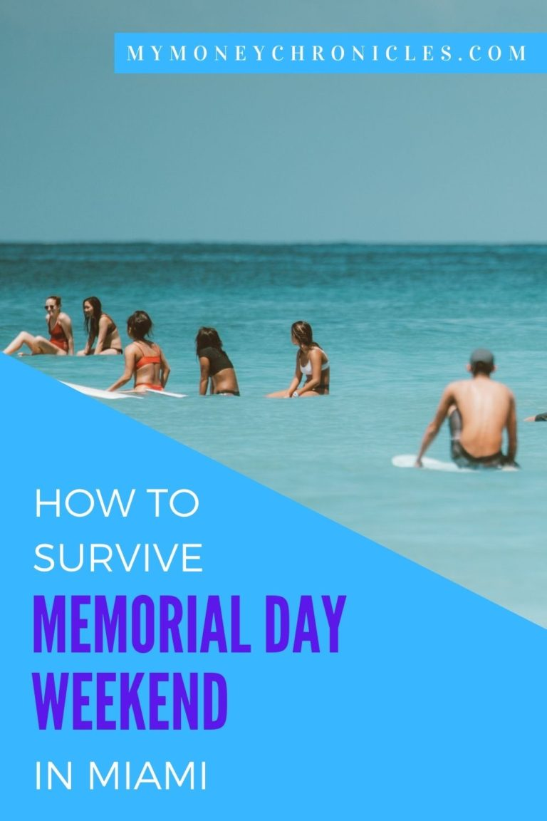 How to Survive Memorial Day Weekend in Miami