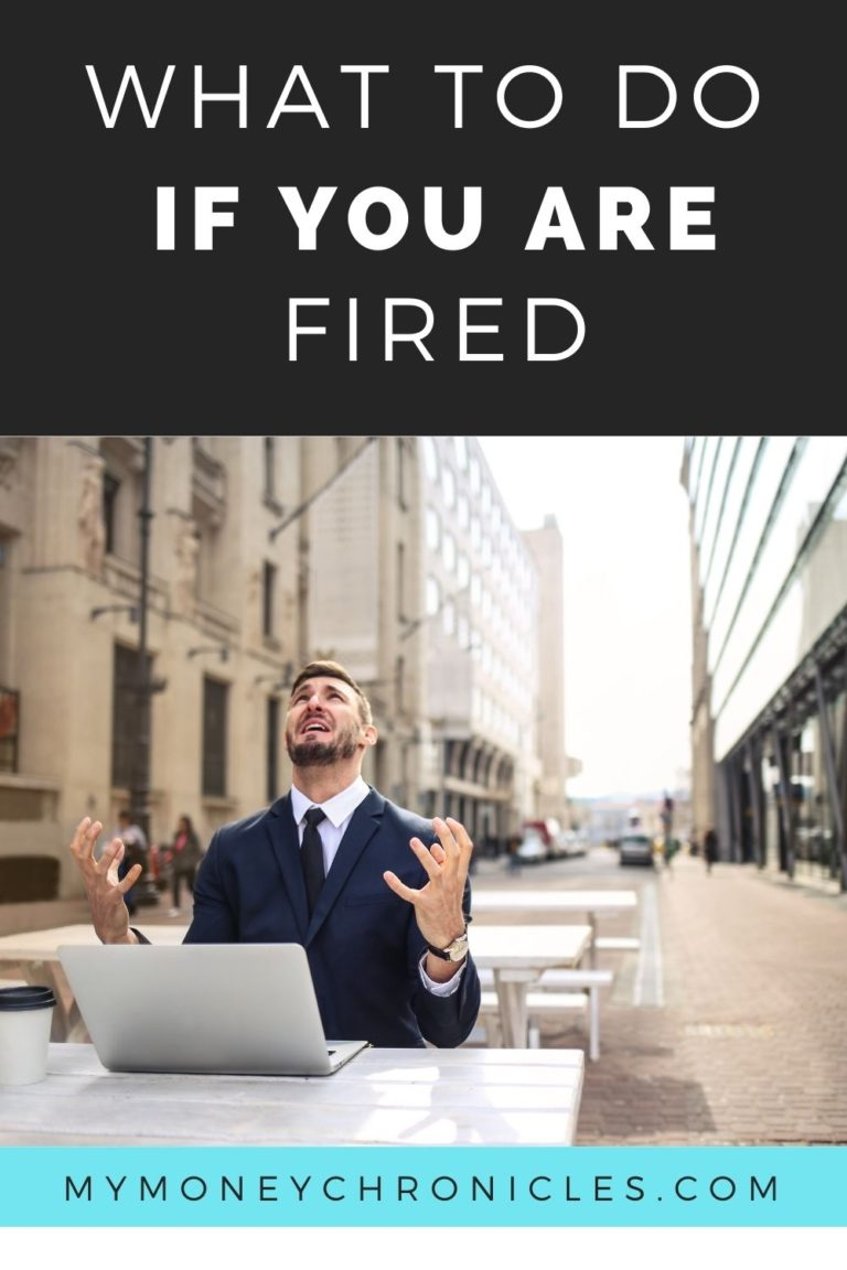 What to Do if You Are Fired