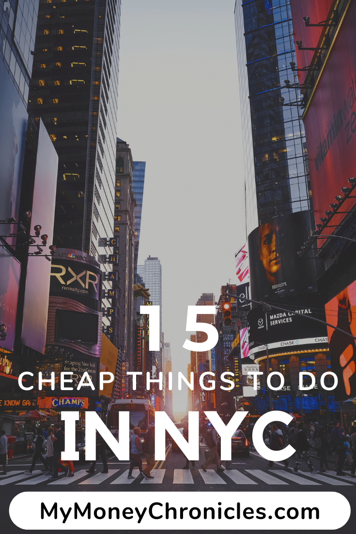 15 Cheap Things to Do In NYC