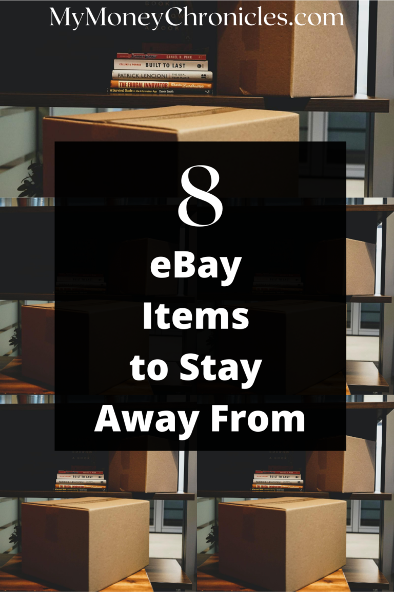 Items Not Selling on eBay: 8 Items to Stay Away From