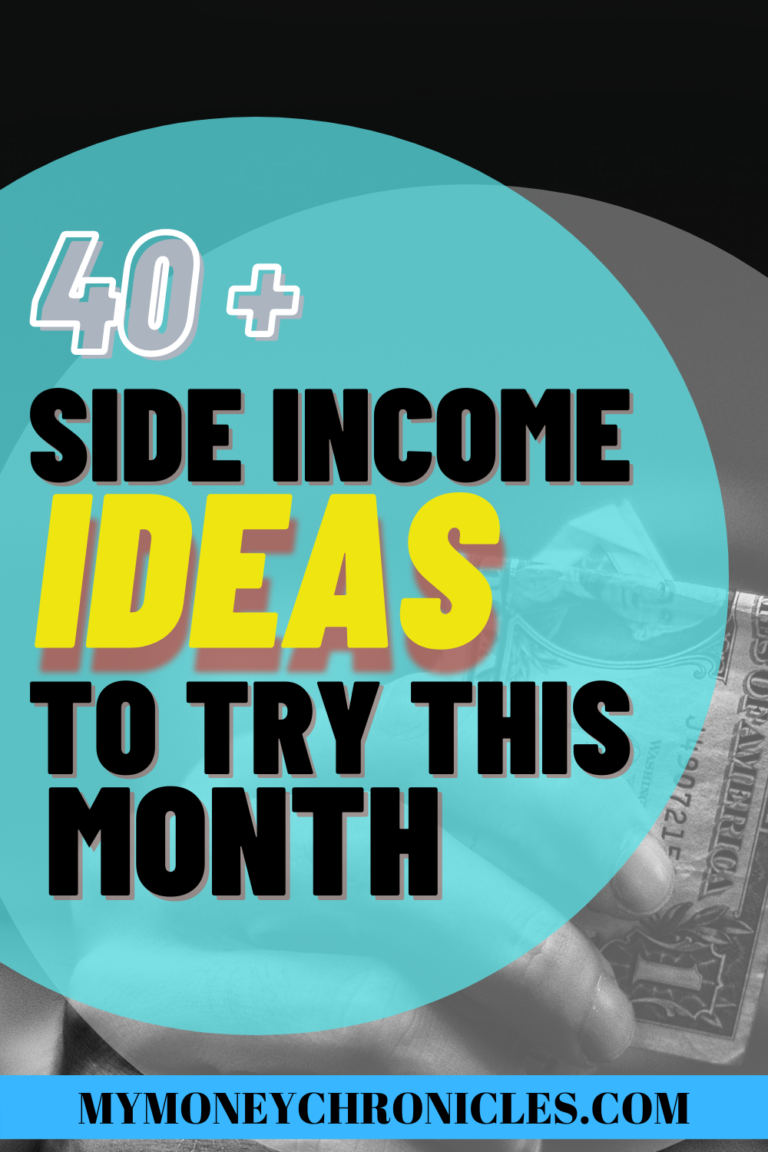 40+ Side Hustle Ideas To Try This Month