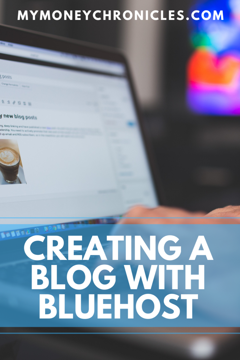 Creating a Blog With Bluehost
