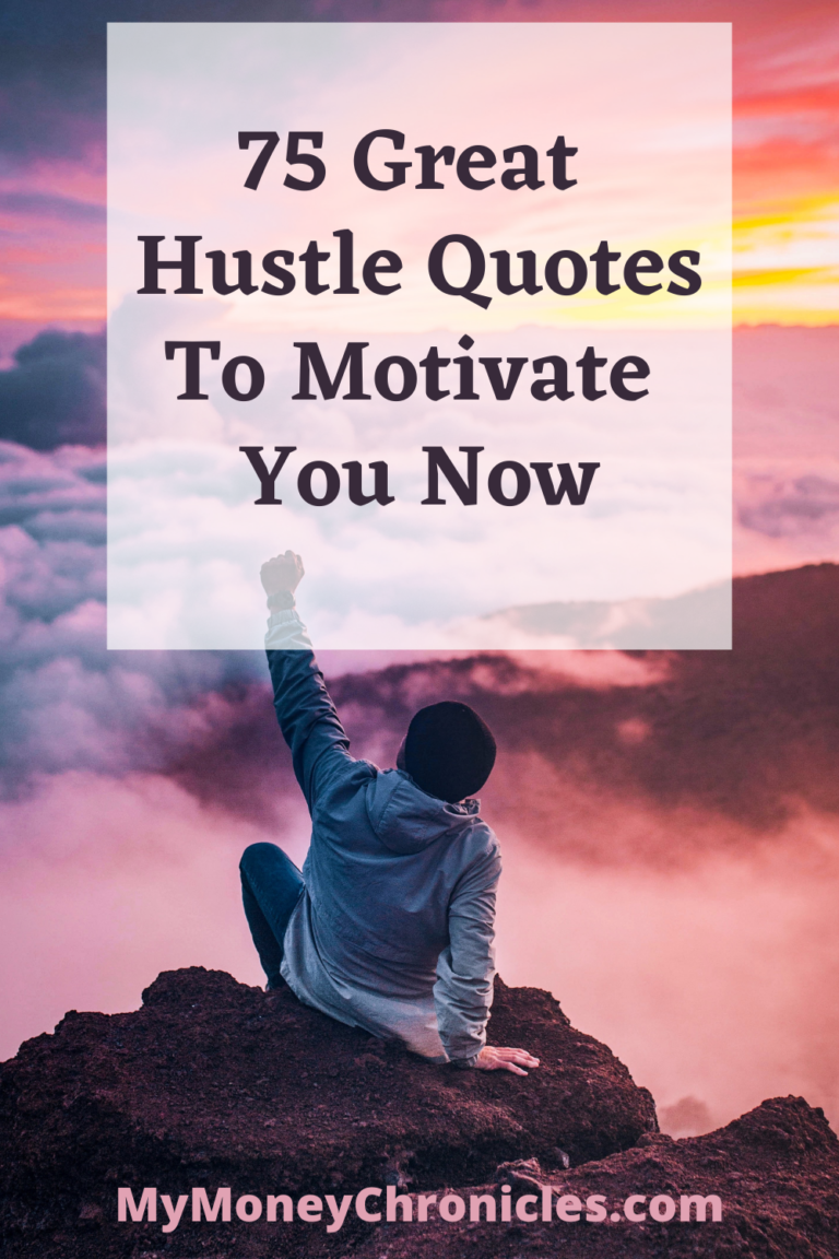 75 Great Hustle Quotes to Motivate You Now