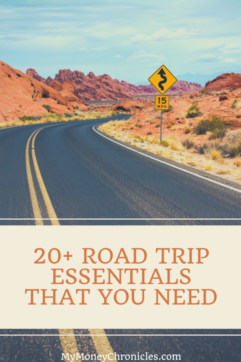 20+ Road Trip Essentials That You Need