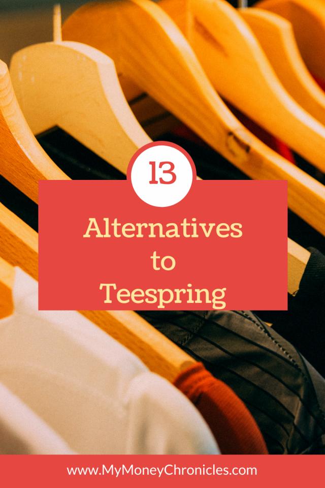 Alternatives to Teespring