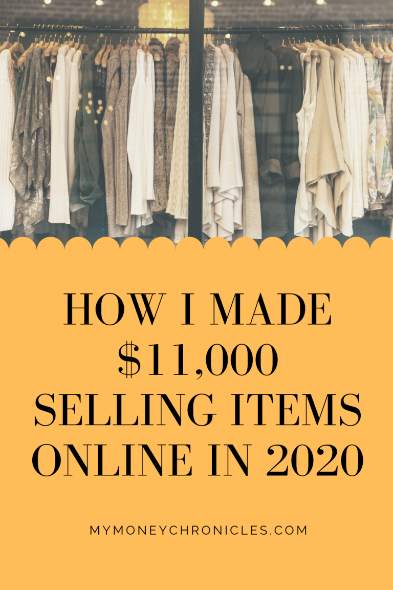 How I Made $11,000 Selling Items Online in 2020