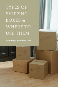 Types of shipping boxes to use