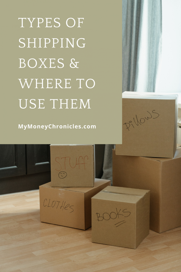 Types of Shipping Boxes & Where to Use Them